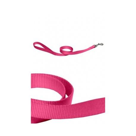 Correa nylon 25mmx120cm, rosa