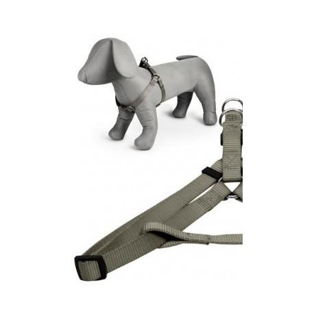 Arnés nylon 25mmx60-100cm, gris