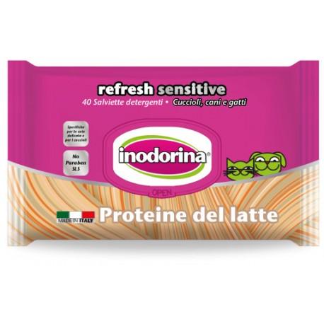 Inodorina Toallitas Proteina leche 40Ud