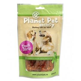 Planet Pet Snack tiras pato