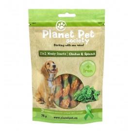 Planet Pet Snack Frutas Pollo y Espinacas