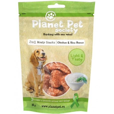 Planet Pet Huesitos pollo y arroz