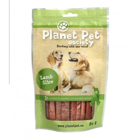 Planet Pet Snack tiras cordero