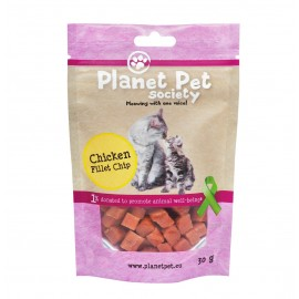 Planet Pet Gato Snack Tacos de pollo