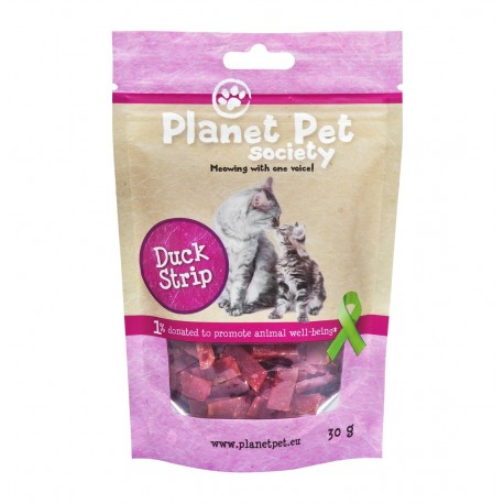 Planet Pet Gato Snack Tacos de Pato