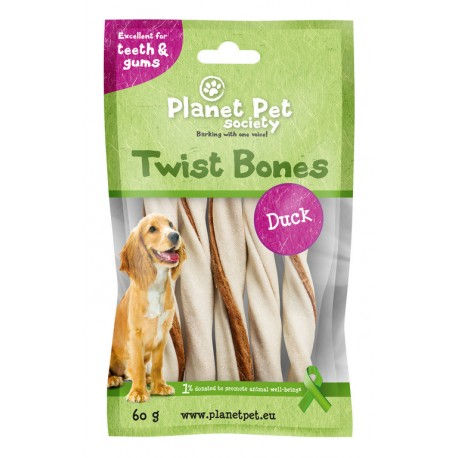 Planet Pet Rollito Dental Pato 5 uds.