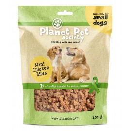 Planet Pet mini bites de pollo 200 grs