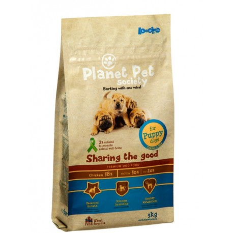 Planet Pet Puppy Pollo y Arroz
