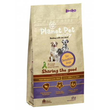 Planet Pet Sensitive Cordero y Arroz