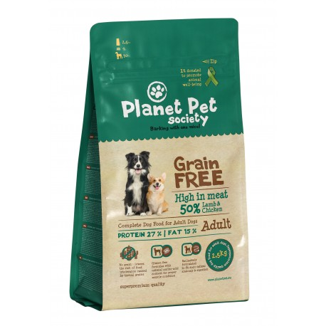 Planet Pet Grain Free Cordero y Patatas