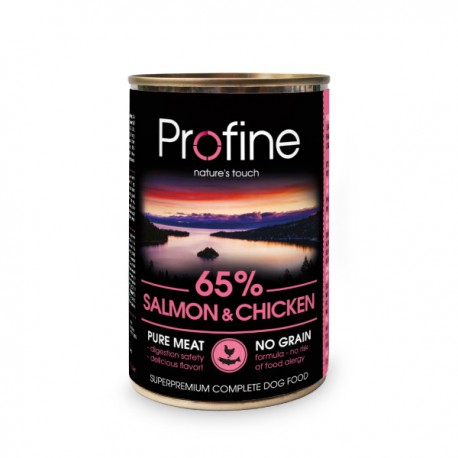 Profine lata Salmón y Pollo