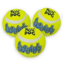 Kong squeaker tennis ball medium pack 3un