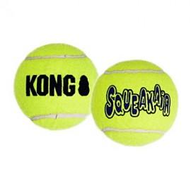Kong squeaker tennis ball large pack 2un