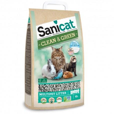 Sanicat clean&green celulosa 10