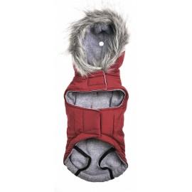 Parka roja capucha Oh my dog !