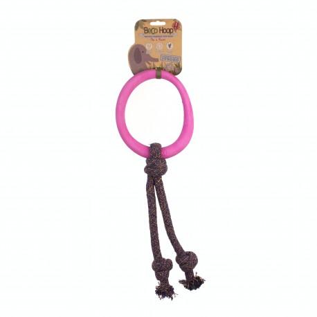 BecoHoop con Cuerda L Rosa