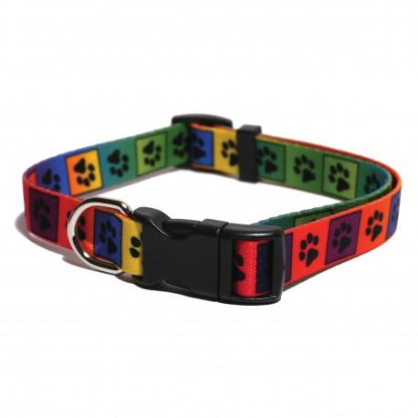 Rosewood Collar multihuellas 45-70cmx25mm