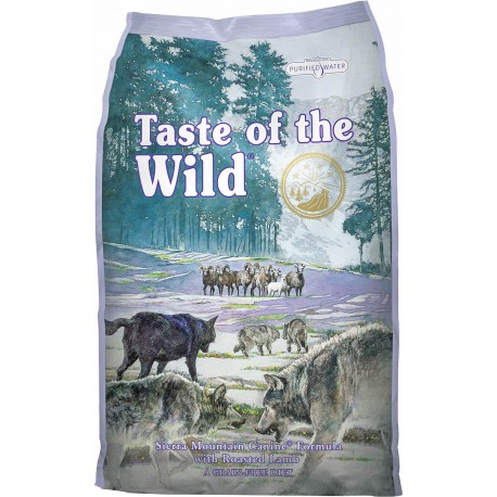 Taste of the wild Sierra Mountain perros