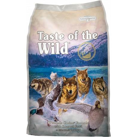 Taste of the wild Wetlands perros