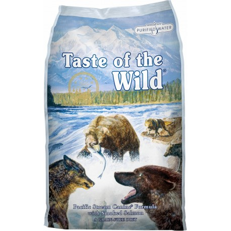 Taste of the wild Pacific Stream perros
