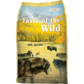 Taste of the wild High Prairie perros