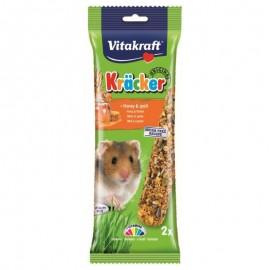 Vitakraft Barritas Hamsters Miel 2 unidades