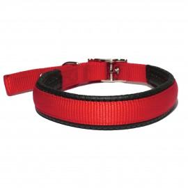 Rosewood Collar nylon neopreno hebilla rojo