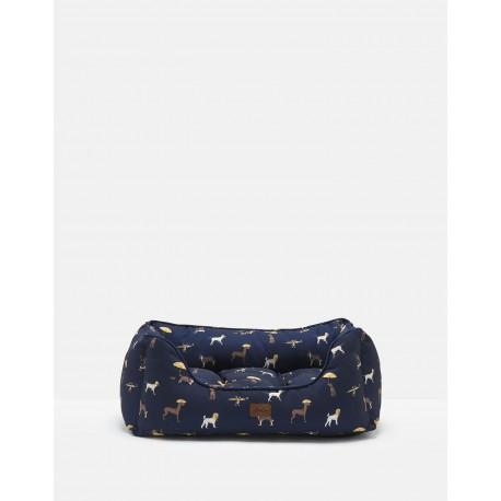 Rosewood Cama Joules azul dog print