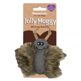 Rosewood Gato Jolly Moggy mariposa pelo