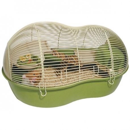 Rosewood Casa hamster Eco resina de bambú verde