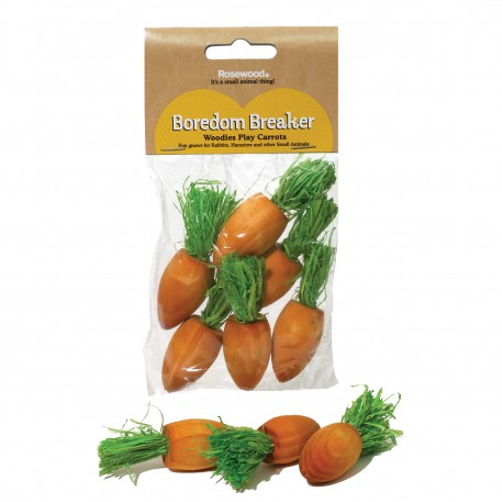 Rosewood Small animal mini zanahorias roer