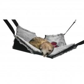 Rosewood Hamaca y tunel colgante roedores (2 en 1)