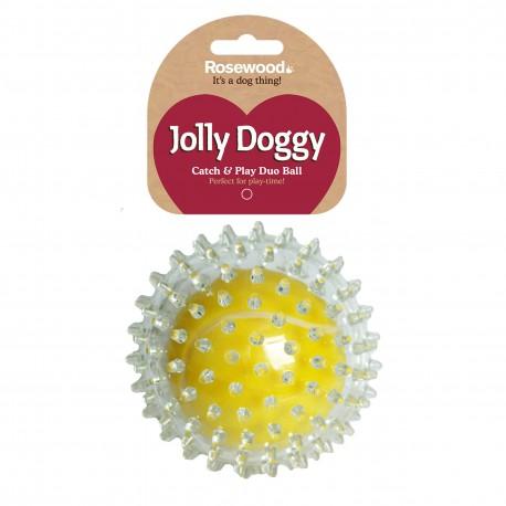 Rosewood Jolly Doggy pelota tenis pinchos