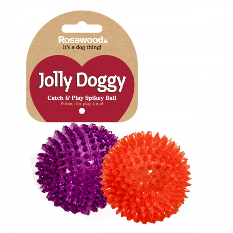 Rosewood Jolly Doggy pelota spikey pinchos