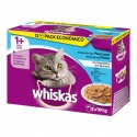 Whiskas Multipack Pescado 12x100g (4 uds)