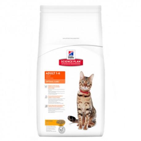 Hills Feline Adult Optimal Care Pollo