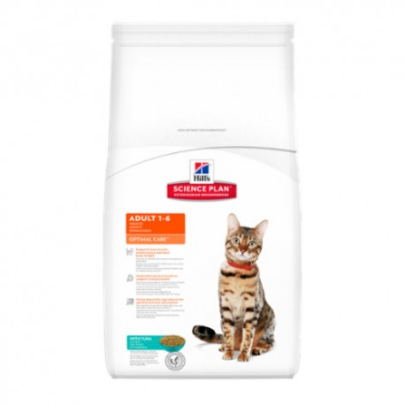 Hills Feline Adult Optimal Care Atún