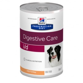 Hills Diet Canine i/d pavo (12x360 gr)