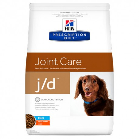 Hills Diet Canine j/d mini