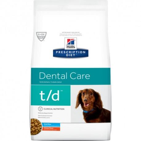 Hills Diet Canine t/d Mini 3 kg Z