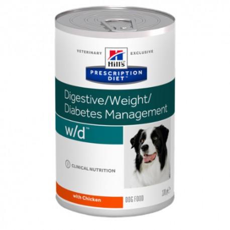 Hills Diet Canine w/d (12x370 gr)
