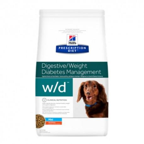 Hills Diet Canine w/d mini