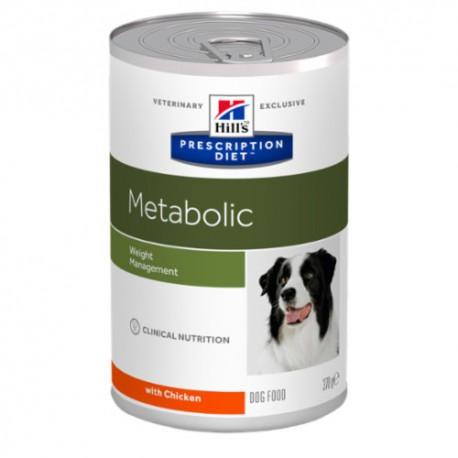 Hills diet canine Metabolic lata 12x370 grs