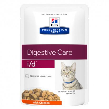 Hills Diet Feline i/d (bolsita) (12x85 gr)