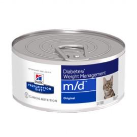 Hills Diet Feline m/d (lata) (24x156 gr)