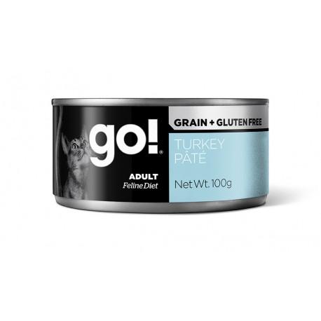 Go! Grain Free Turkey Pate Cat
