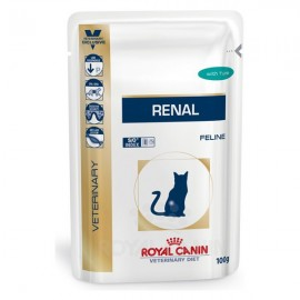 Royal Canin Diet Feline Renal At·n(12x85g) sobres