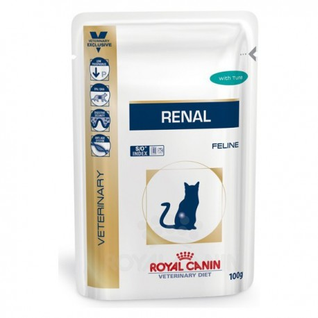 Royal Canin Diet Feline Renal At·n(12x85g) sobres