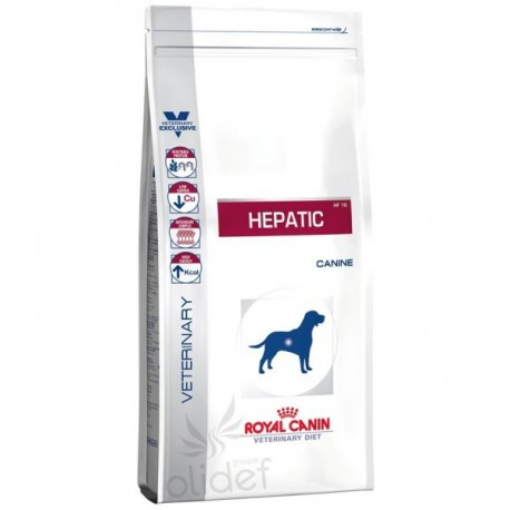 Diet Canine Hepatic HF16