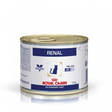 Royal Canin Diet Feline Renal pollo (12x195) lata